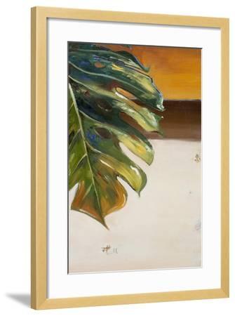 The Green Leaf II-Patricia Pinto-Framed Art Print