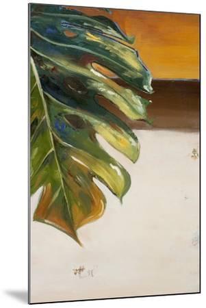 The Green Leaf II-Patricia Pinto-Mounted Art Print