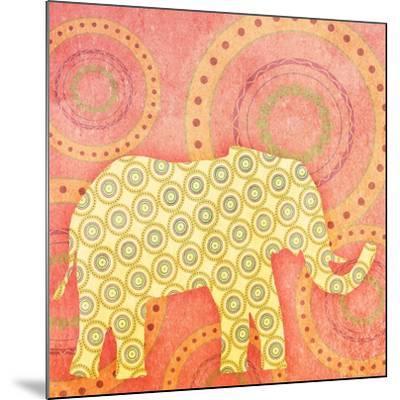 Elephant--Mounted Art Print