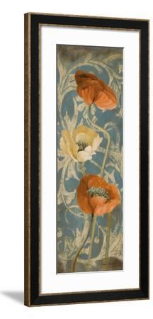 Poppies de Bleu I-Lanie Loreth-Framed Premium Giclee Print