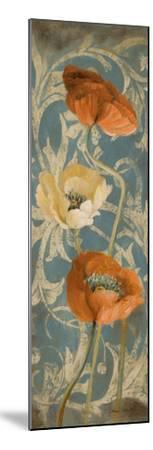 Poppies de Bleu I-Lanie Loreth-Mounted Premium Giclee Print