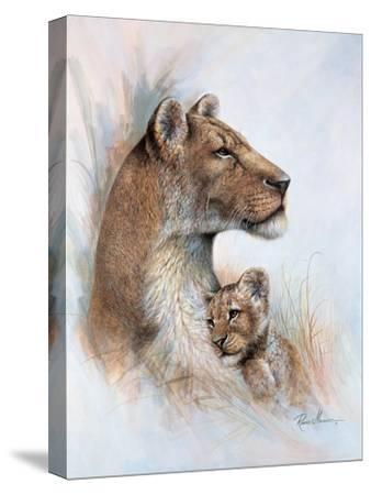 Mother's Pride-Ruane Manning-Stretched Canvas Print