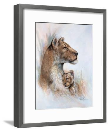 Mother's Pride-Ruane Manning-Framed Art Print