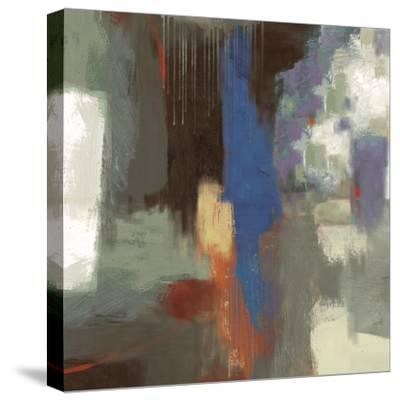 Blue Abstract-Sloane Addison ?-Stretched Canvas Print