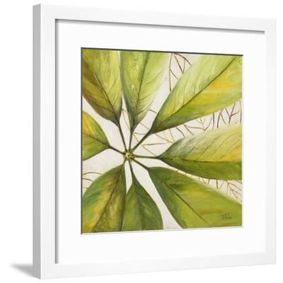Fresh Leaves II-Patricia Pinto-Framed Premium Giclee Print