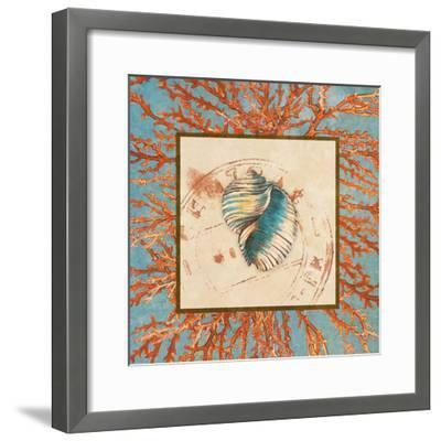 Coral Medley Shell I-Lanie Loreth-Framed Art Print