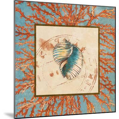 Coral Medley Shell I-Lanie Loreth-Mounted Art Print