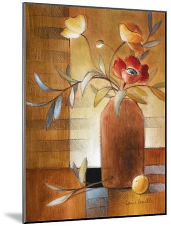Afternoon Poppy Still Life II-Lanie Loreth-Mounted Premium Giclee Print