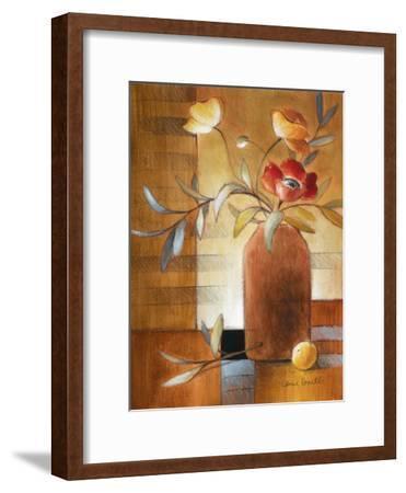 Afternoon Poppy Still Life II-Lanie Loreth-Framed Premium Giclee Print