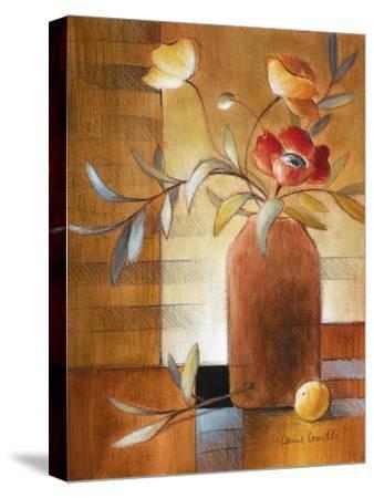 Afternoon Poppy Still Life II-Lanie Loreth-Stretched Canvas Print
