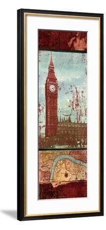 Weathered Landmark II-Elizabeth Medley-Framed Art Print