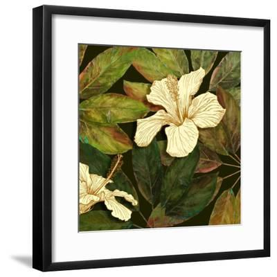 Hibiscus Leaves II-Patricia Pinto-Framed Premium Giclee Print