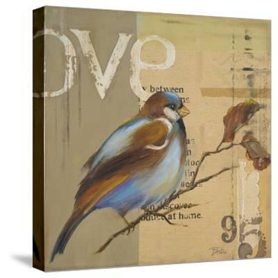Blue Love Birds II-Patricia Pinto-Stretched Canvas Print