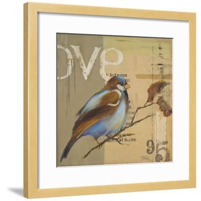 Blue Love Birds II-Patricia Pinto-Framed Premium Giclee Print