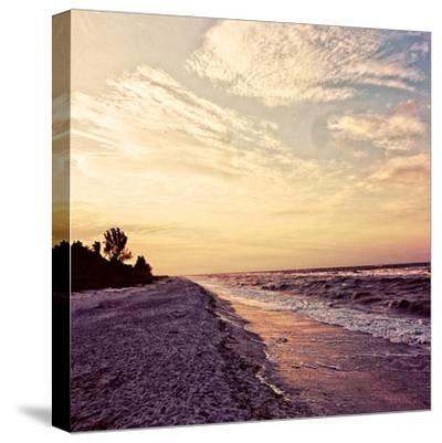 Crashing Waves-Gail Peck-Stretched Canvas Print