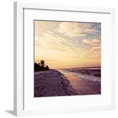 Crashing Waves-Gail Peck-Framed Art Print