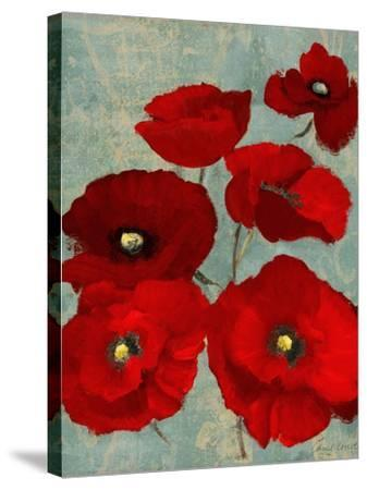 Kindle's Poppies II-Lanie Loreth-Stretched Canvas Print