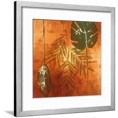 Luminous Leaves II-Lanie Loreth-Framed Art Print