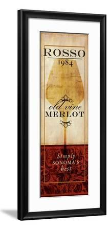 Vino II-Elizabeth Medley-Framed Premium Giclee Print