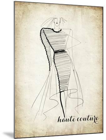 Couture Concepts II-Nicholas Biscardi-Mounted Premium Giclee Print