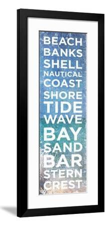 Port Type Panel II-Susan Bryant-Framed Premium Giclee Print