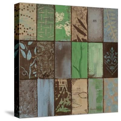 Parade of Patterns I-Hakimipour-ritter-Stretched Canvas Print