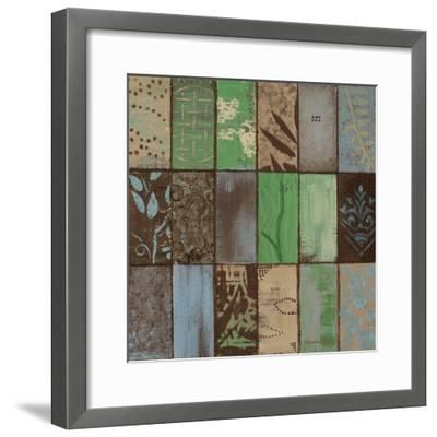 Parade of Patterns I-Hakimipour-ritter-Framed Premium Giclee Print