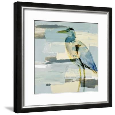 Great Blue Heron-Lanie Loreth-Framed Premium Giclee Print
