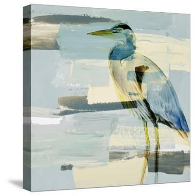 Great Blue Heron-Lanie Loreth-Stretched Canvas Print