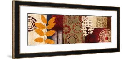 Fall Leaf Panel II-Michael Marcon-Framed Premium Giclee Print