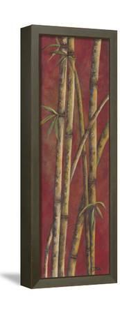 Red Bamboo I-Patricia Pinto-Framed Stretched Canvas Print
