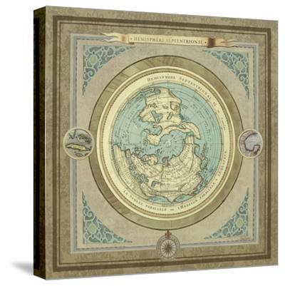 North and South Maps I-Elizabeth Medley-Stretched Canvas Print
