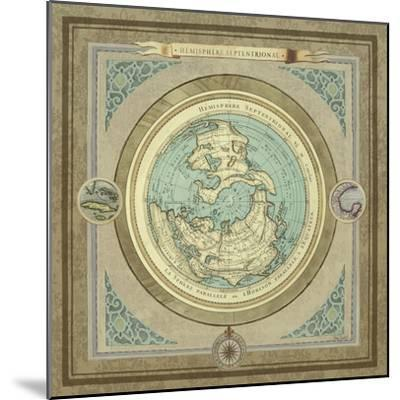 North and South Maps I-Elizabeth Medley-Mounted Premium Giclee Print