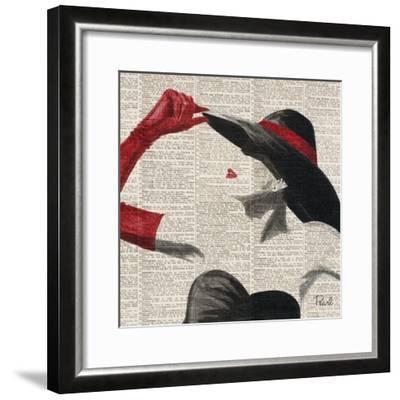 Women of Style Square II--Framed Premium Giclee Print