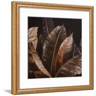 Through the Sepia Leaves I-Patricia Pinto-Framed Premium Giclee Print