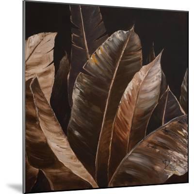 Through the Sepia Leaves I-Patricia Pinto-Mounted Premium Giclee Print