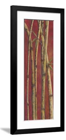 Red Bamboo II-Patricia Pinto-Framed Art Print