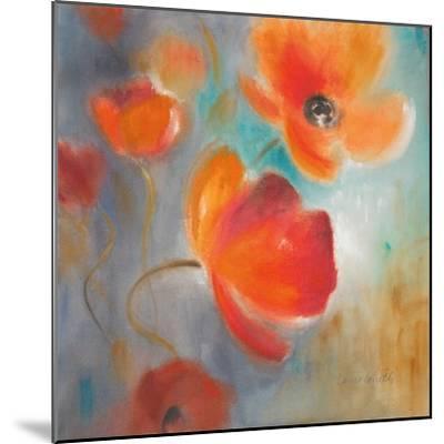 Scarlet Poppies in Bloom I-Lanie Loreth-Mounted Premium Giclee Print