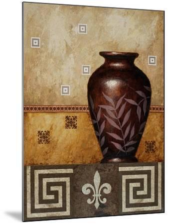 Mahogany Urn I-Michael Marcon-Mounted Art Print