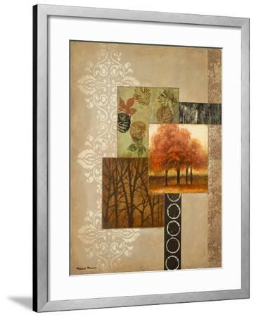 Orange Trees-Michael Marcon-Framed Premium Giclee Print