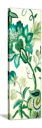 Green Capri Floral II-Lanie Loreth-Stretched Canvas Print