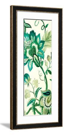 Green Capri Floral II-Lanie Loreth-Framed Premium Giclee Print