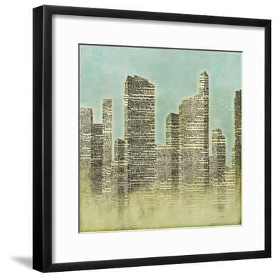 The City II--Framed Premium Giclee Print