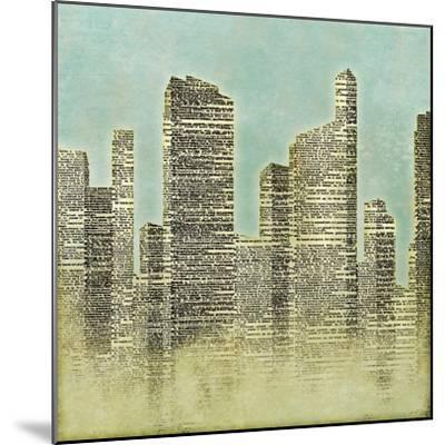 The City II--Mounted Premium Giclee Print