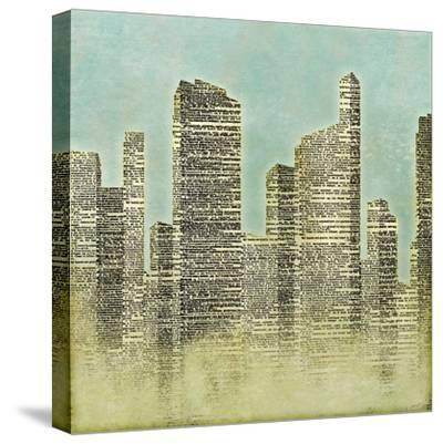 The City II--Stretched Canvas Print