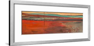 Red Horizon II-Patricia Pinto-Framed Premium Giclee Print
