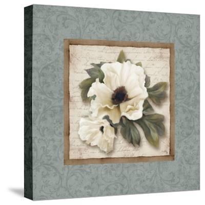 Silversage Flower I-Elizabeth Medley-Stretched Canvas Print