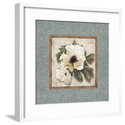 Silversage Flower I-Elizabeth Medley-Framed Premium Giclee Print