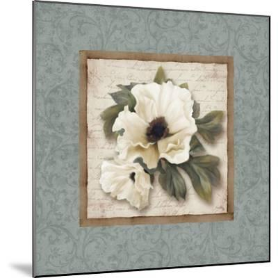 Silversage Flower I-Elizabeth Medley-Mounted Premium Giclee Print