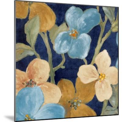 Blue Garden Party I-Lanie Loreth-Mounted Premium Giclee Print